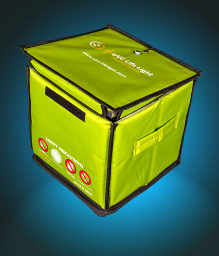 UVC box sterilizer